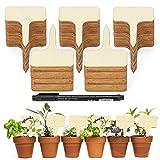 Marcadores de plantas, 100 Piezas Etiquetas de Plantas...