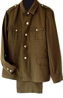Soviet USSR Original Army Enlisted Uniform 1992 Rare Khaki
