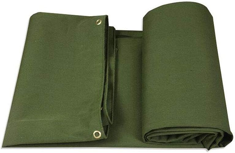 CJC Bache 640g m2 PVC Vert De Plein Air Prougeecteur Imperméable Camping (Couleur   vert, Taille   6x5m)
