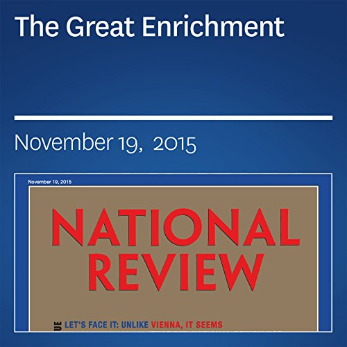 The Great Enrichment audiobook cover art