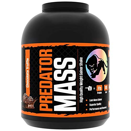 Predator Mass 5kg Chocolate Truffle - Highest Quality Premium Weight Gainer - Gain Lean Muscle -