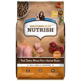 Rachael Ray Nutrish Premium Natural Dry Dog Food, Turkey, Brown Rice & Venison Recipe, 26 Pounds (Packaging May Vary)