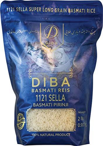 DIBA Basmatireis, CREAMY SELLA, 907 g