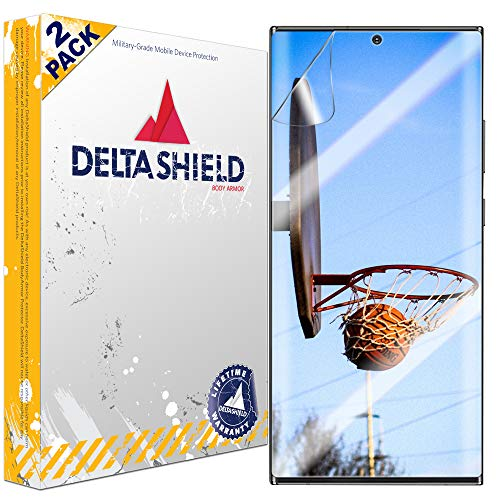 2 Pack DeltaShield Screen Protector for Samsung Galaxy Note 20 Ultra (6.9 inch) (2-Pack) (Case Friendly Version) $0.99