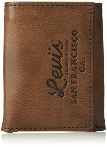 Levi's Men's Genuine Leather Trifold Cool Wallet