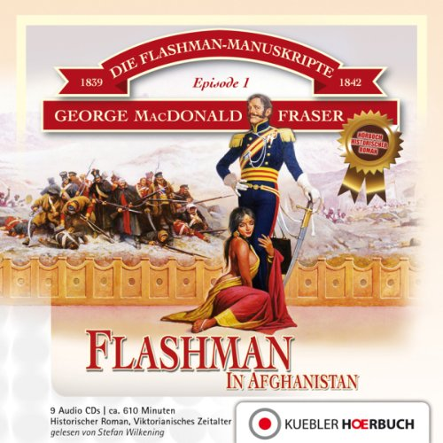 Couverture de Flashman in Afghanistan (Flashman 1)