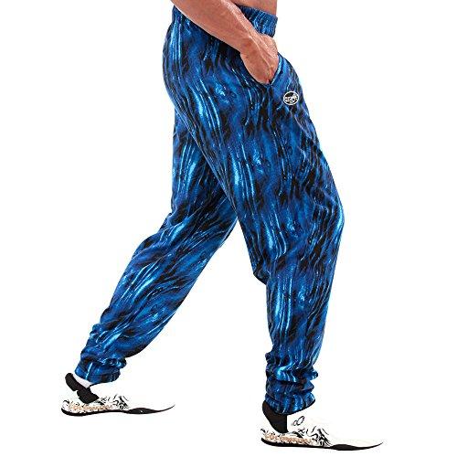 Otomix Men's Baggy Bodybuilding Workout Pants Ocean (Medium)