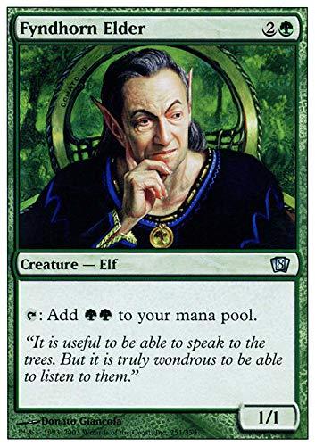 Magic The Gathering - Fyndhorn Elder - Eighth Edition