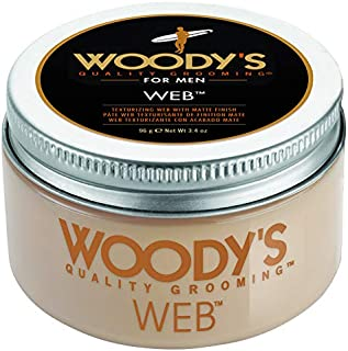 Woodys Web with Matte Finish by Woodys for Men - 3.4 oz Pomade, 96 g