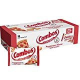 COMBOS Pepperoni Pizza Cracker Baked Snacks 1.7-Ounce Bag 18-Count Box (Pack of 2)