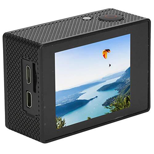 Sanpyl Grabador de cámara de acción 4K HD Submarino 30M Videocámara de grabación WiFi Impermeable