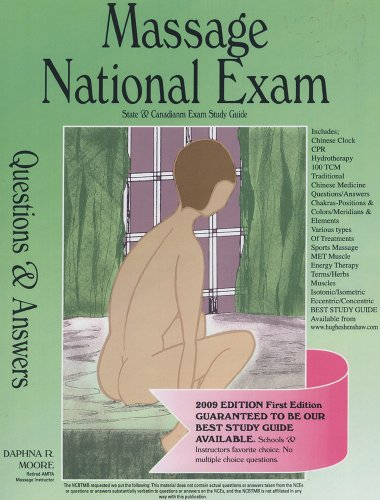 Amazing Deal Massage National Exam Questions and Answers 2009