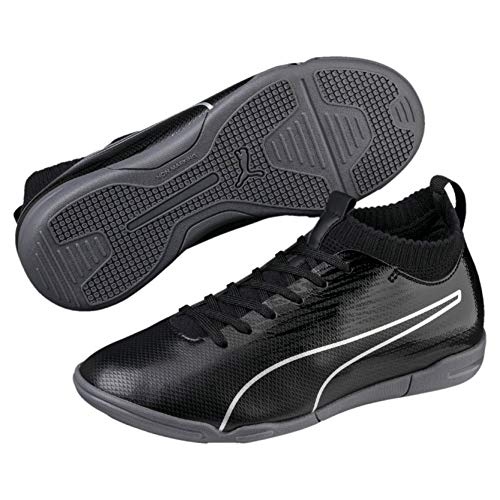 Puma , Jungen Niedrig , Schwarz - Puma Black-puma Black-puma Silver - Größe: 38 EU