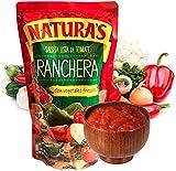 Salsa Ranchera - Salsa Lista de Tomate con 100% Vegetales frescos, Lista para usar (210g - 7.4oz) 6 Unidades