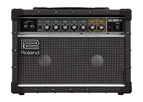 Roland JC-22 Jazz Chorus 40-Watt Guitar Amplifier with Two 6.5-Inch Speakers