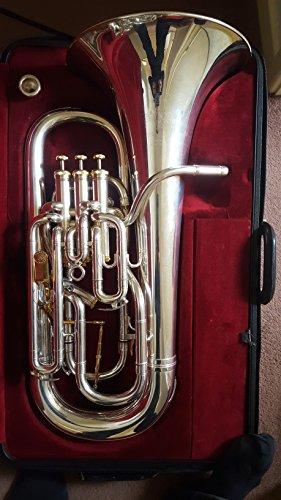 Besson BE2052 Prestige Series Compensating Euphonium Silver