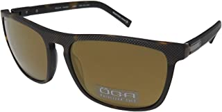 Oga By Morel 8266o Mens Designer Full-rim Polarized Lenses Flexible Hinges Sunglasses/Eyewear