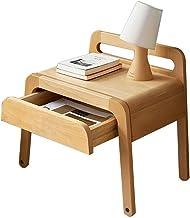 Bed Table Bedside Cabinets,Japanese Children's Bedside Table, Simple and Economical Storage Locker, Bedroom Furniture (Col...
