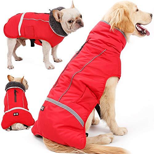 Warm & Reflective Dog Coat