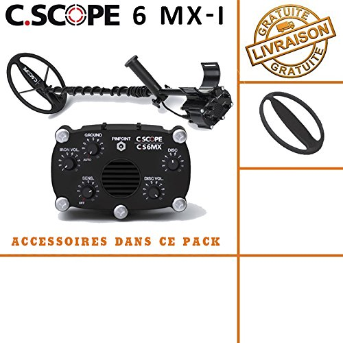 C-scope. Detector de metales CS 6MX con protege disco