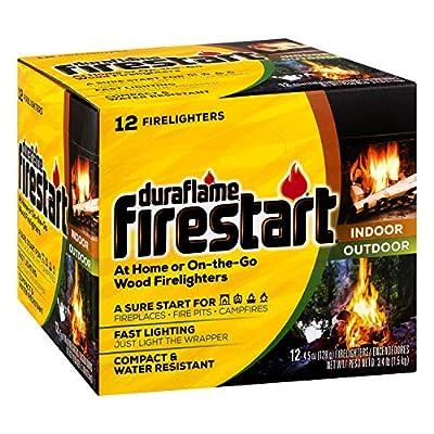 duraflame Firestart Indoor/Outdoor Firelighters, 12 pack