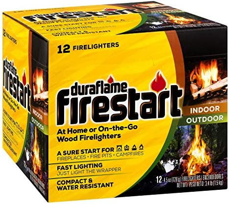 duraflame Firestart Indoor Outdoor Firelighters 12 pack product image
