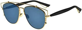 New Christian Dior TECHNOLOGIC 1UR/A9 Gold Blue Black/Green Sunglasses
