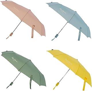 Paraguas Pepe Jeans Luma Doble Autom/ático Amarillo