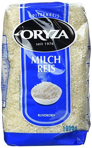 Oryza Milchreis Rundkorn (1 x 1000 g Packung)