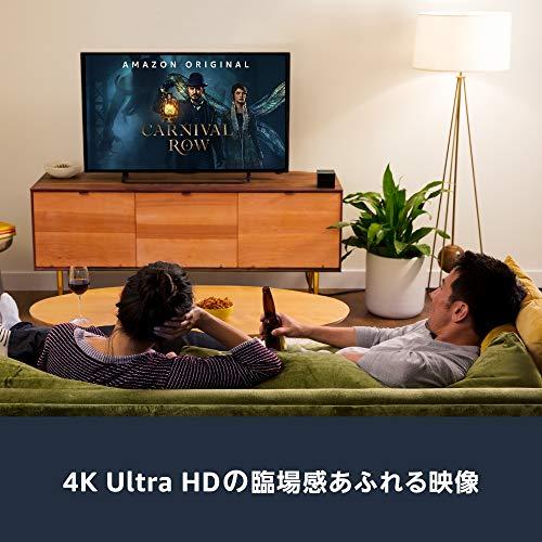 FireTVCube-4K・HDR対応、Alexa対応音声認識リモコン付属|ストリーミングメディアプレーヤー