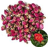 TooGet Brotes Naturales de Rosas Rojas Fragantes Pétalos de Rosa Flores Secas Al por Mayor - 225g