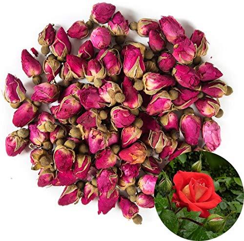 TooGet Duftende Natürliche Rote Rosenknospen Rosenblätter Getrocknete Blumen Großhandel - 225g