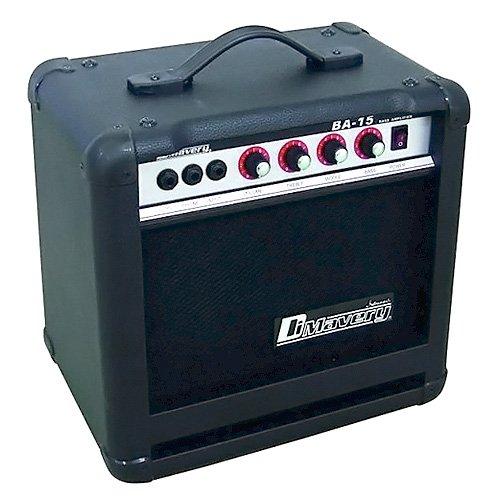 Dimavery 26363005 BA-15 Bass-Verstärker (15 Watt) schwarz