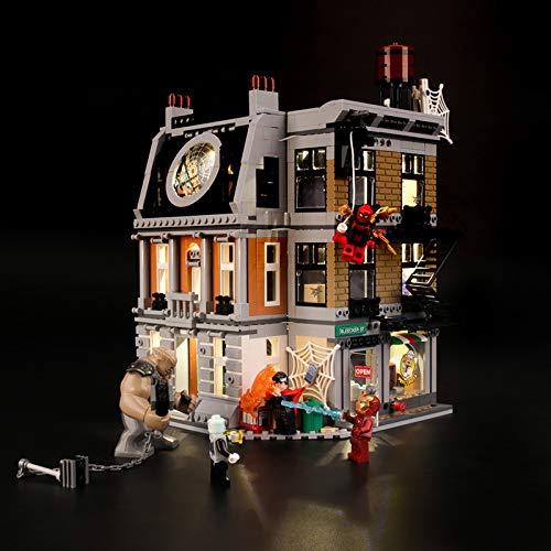 Led Beleuchtungsset Für Lego Marvel Super Heroes Sanctum Sanctorum, Kompatibel Mit Lego 76108 Bausteinen...