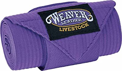 Weaver Leather Livestock Sheep and Goat Leg Wraps , Purple , 4 x 41, 4 Pack from Weaver Leather, LLC