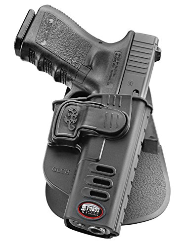 Fobus neu verdeckte Trage Rotations roto Pistolenhalfter Sicherungs Trigger Sicherheit Zuhaltungs System Halfter Holster für Glock 17, 19