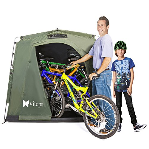 Viteps Space-Saving Outdoor Storage Shed Tent,...