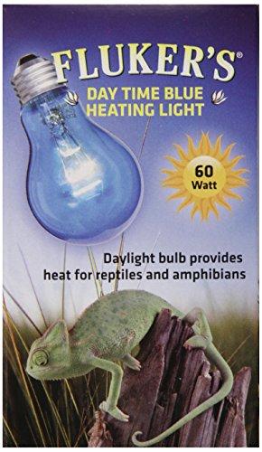 Fluker's Reptile Incandescent Daylight Bulb for Pet Habitat, Blue