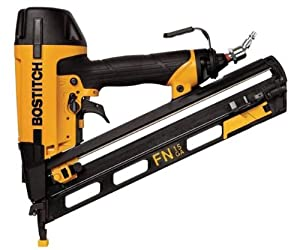 Stanley Bostitch N62FNK-2 15-Gauge 1-Inch to 2-1/2-Inch Angled Finish Nailer from Bostitch