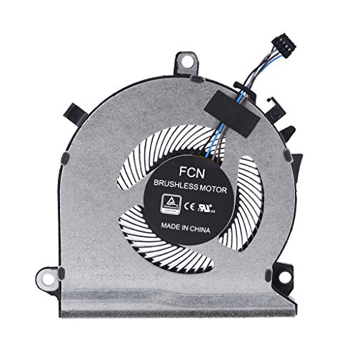 N/A. Nuevo ventilador de refrigeración de CPU para 5 juegos 15-EC 15-EC0016ax 15-EC0075ax