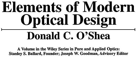 Elements of Modern Optical Design