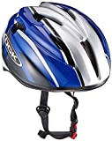 オージーケーカブト(OGK KABUTO) 自転車 ヘルメット 子ども用 J-CULES2 ブルーカーボン 児童用 (頭囲 54cm~56cm未満)
