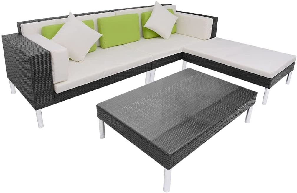 4 Piece Outdoors Loungers Outdoor Clearance Garden Bed free Max 51% OFF shipping Furniture