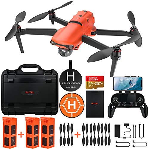 Autel Robotics EVO 2 Drone con 8K HDR Video, Paquete Resistente con €429 Kit de Accesorios de Valor (Manual de Usuario Solo en Inglés)
