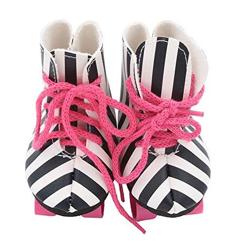 XuBa Rollschuhe, Schlittschuhe für Junge Mädchen, Rollenschuh-Set, Anfänger-Rollschuhe Zebra