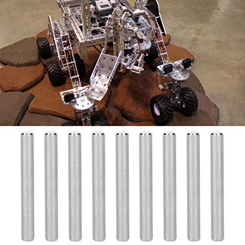 Accesorios compatibles perno cilíndrico acero inoxidable redondo varilla artesanía herramienta 10 piezas robot industrial piezas D-eje robots