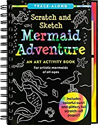 Scratch and Sketch Mermaid Adventure: An Art Activity Book