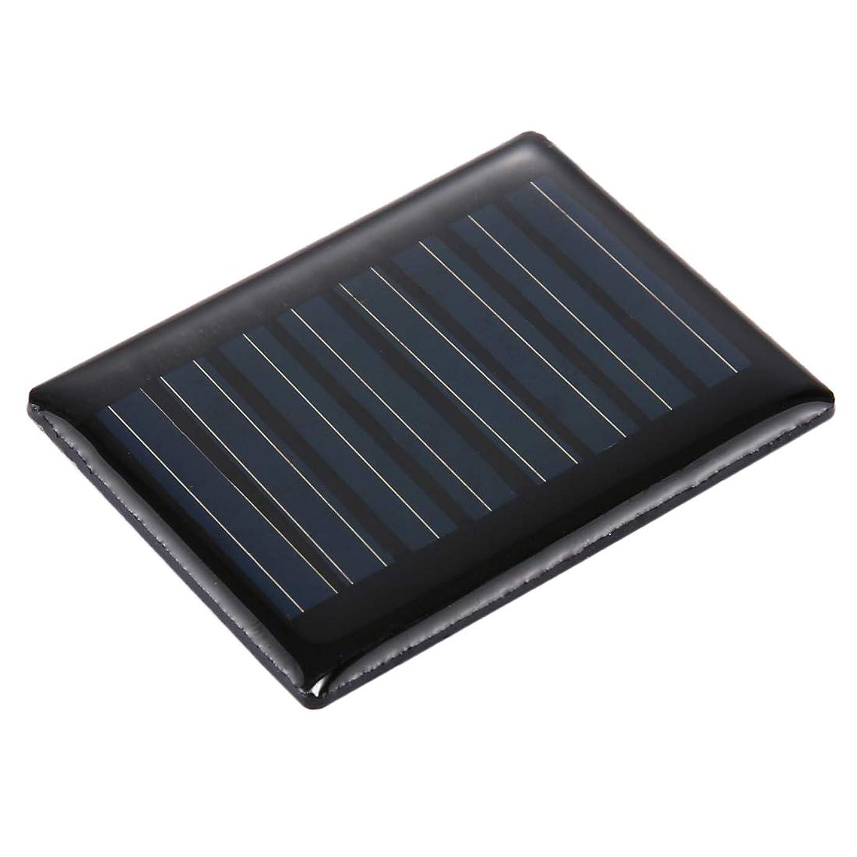 汚いシンジケートにもかかわらずポータブル折りたたみソーラーパネル 4V 0.1W 20mAh DIYサンパワーバッテリーソーラーパネルモジュール電池、サイズ:44 x 35mm マウサー日本