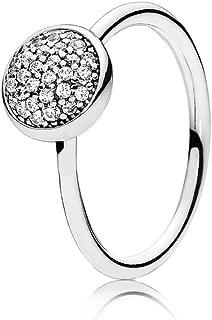 Pandora Dazzling Droplet Ring, Clear CZ, 6 US, 52 Euro, 191009CZ-52
