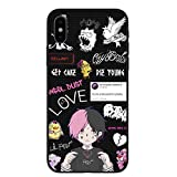 Xxxtentacion Bad Vibes Forever Lil Peep Silicone Phone Cases Cover for iPhone TPU17 for iPhone 8Plus